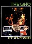 The Who Rocks America Tour Programme
