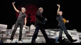Pink Floyd reunite