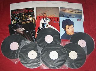 Roxy-Music-Set-Of-10-Test-Pr-367307